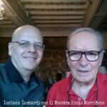 Luciano Lombardi - Incontro con il Maestro Ennio Morricone nella sua abitazione a Roma
