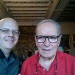 Luciano Lombardi - Incontro con il Maestro Ennio Morricone nella sua abitazione a Roma - Luglio 2014