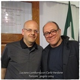 Luciano Lombardi e Carlo Verdone