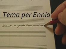 Tema per Ennio - Luciano Lombardi