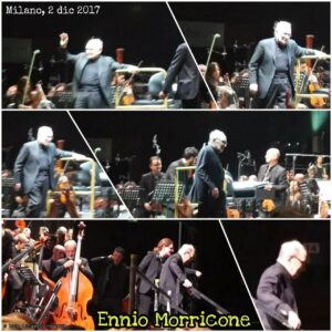Ennio Morricone collage After Concert 2017