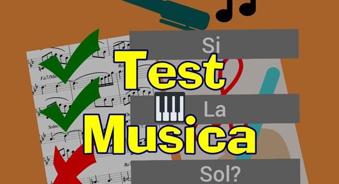 Test Musica - Luciano Lombardi
