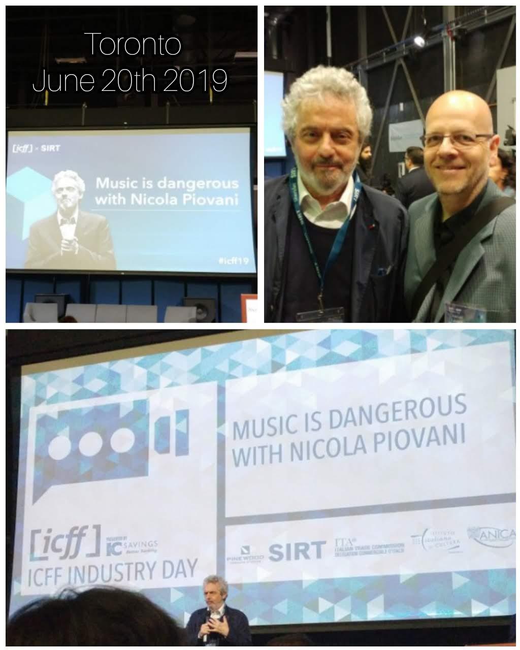 Maestro Nicola Piovani a Toronto. La musica è pericolosa