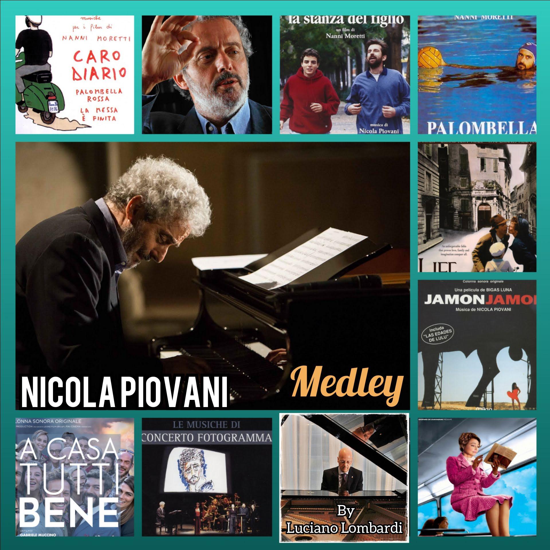 Maestro Nicola Piovani a Toronto. Medley collage